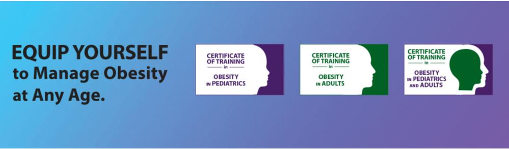 New Virtual Courses in Pediatric and Adult Obesity