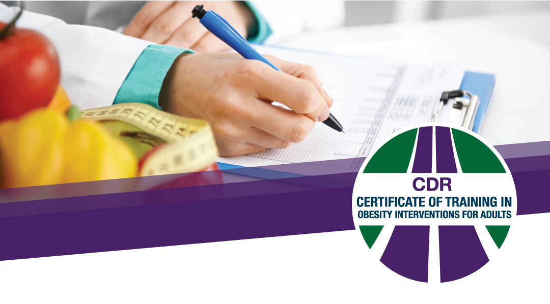 Certificate Of Training In Obesity Interventions For Adults