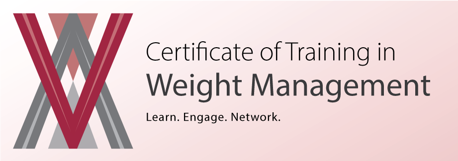 weight management certificate of training in weight management
